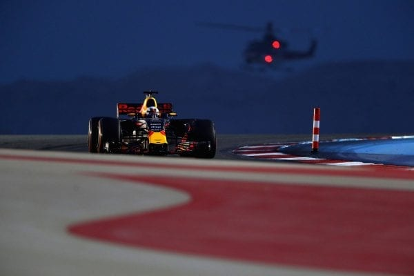 Vettel wins Bahrain GP, Raikkonen's car hits mechanic