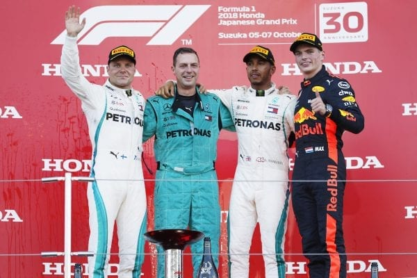 Lewis Hamilton can win the title at the U.S. Grand Prix