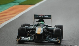 27.08.2011 The Belgium Grand Prix from the Spa-Francorchamps Circuit. Qualifying - Heikki Kovalainen - Lotus