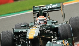 27.08.2011 The Belgium Grand Prix from the Spa-Francorchamps Circuit. Qualifying - Jarno Trulli - Lotus