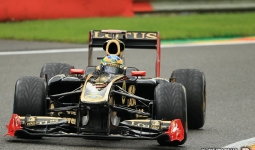 27.08.2011 The Belgium Grand Prix from the Spa-Francorchamps Circuit. Qualifying - Bruno Senna.