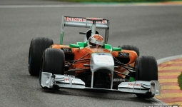 27.08.2011 The Belgium Grand Prix from the Spa-Francorchamps Circuit. Qualifying- Adrian Sutil; Force India