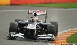 27.08.2011 The Belgium Grand Prix from the Spa-Francorchamps Circuit. Qualifying - Rubbens Barrichello - Williams.