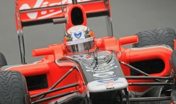 27.08.2011 The Belgium Grand Prix from the Spa-Francorchamps Circuit. Saturday free practice 3 - Jerome d\'Amrosio.