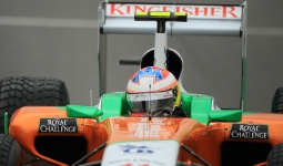 27.08.2011 The Belgium Grand Prix from the Spa-Francorchamps Circuit. Saturday free practice 3 - Paul di Resta - Force India