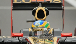 27.08.2011 The Belgium Grand Prix from the Spa-Francorchamps Circuit. Friday free practice 3 - Bruno Senna.