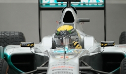 27.08.2011 The Belgium Grand Prix from the Spa-Francorchamps Circuit. Saturday free practice 3 - Nico Rosberg; Mercedes