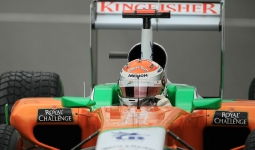 27.08.2011 The Belgium Grand Prix from the Spa-Francorchamps Circuit. Saturday free practice 3 - Adrian Sutil; Force India